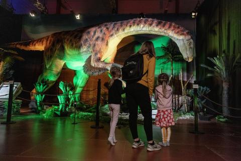 Dinosaurs The Exhibition_Premiär1