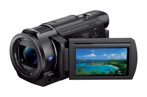 Capture every detail of your life in 4K  with compact new Handycam® from Sony