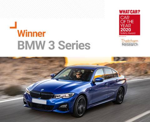 BMW 3 Series crowned What Car? Safety Award winner