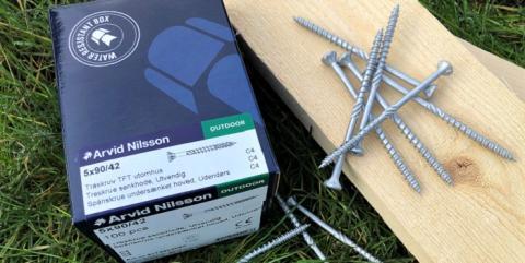 Arvid Nilsson lanserer revolusjonerende treskrue i miljøboks