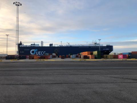 Visit to Copenhagen by the Green Ship M/V AUTO ENERGY