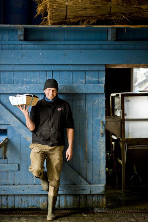 Austern muss man kauen, nicht schlürfen! Sagt Austernfischer Christoffer Bohlig.