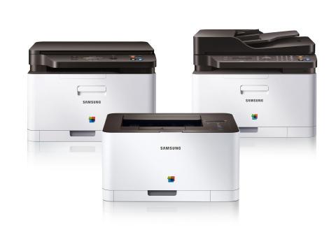 Samsung Xpress C410W: Fargeprint rett fra smarttelefonen