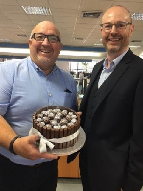 Fred. Olsen's Mike Evans celebrates a quarter of a century with the cruise line!