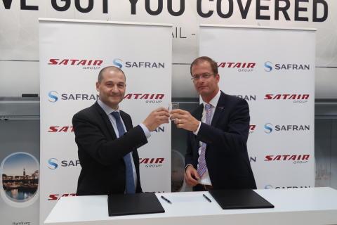 Satair Group signing Safran II