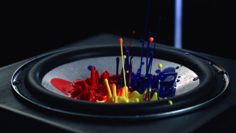 Sony visualiseert geluid: Cymatics video toont kracht van High Powered Audiosysteem