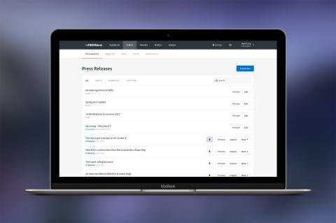 Mynewsdesk endrer utseende og verktøyet oppdateres