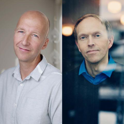 Nynorsk på topp: Alfred Fidjestøl og Harald Nortun nominerte til Bokslukerprisen