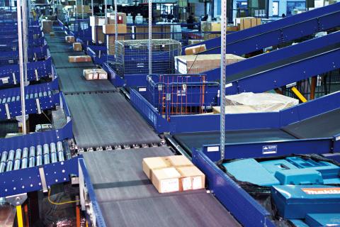 GLS sortering af pakker