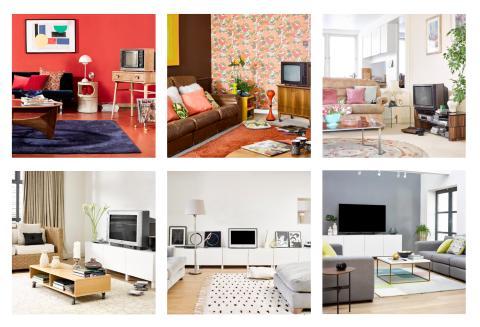 Die Evolution des Wohnzimmers