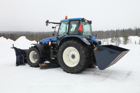 Drivex gör jordbrukstraktorn till en äkta vägunderhållningsmaskin
