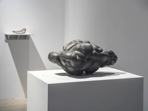 Sorgearbete, installationsvy Bonniers Konsthall, 2020