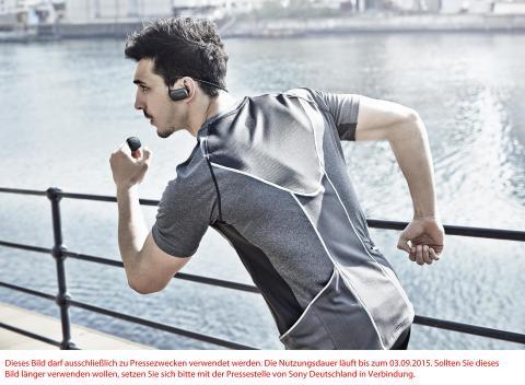 Musik für jedes Workout: Die kabellose, wasserdichte WALKMAN® NWZ-WS610-Serie von Sony