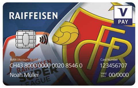 Kartenbilder VPAY Raiffeisen FCB