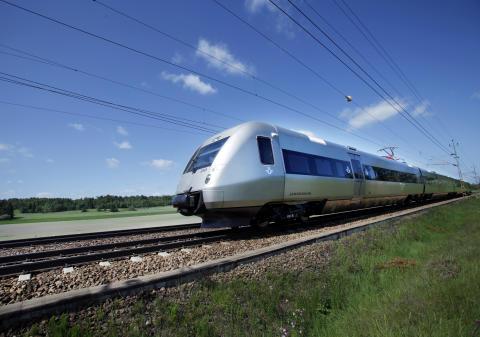 Nya snabbtåget SJ 3000 till fler orter i Sverige