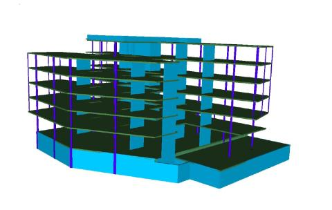 3d bilde av bærekonstruksjon