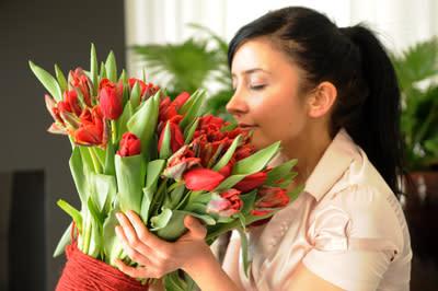 Tro, hopp och tulpaner den 14 februari