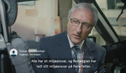 Norwegian er verdens grønneste flyselskap på transatlantiske ruter