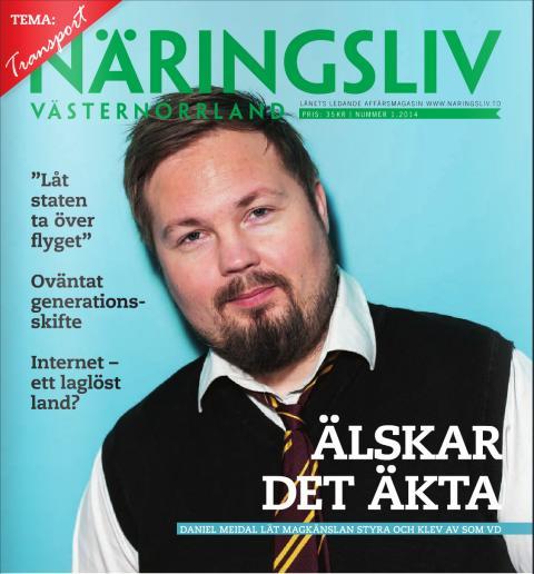 Daniel Meidal Näringsliv Nr.1 2014