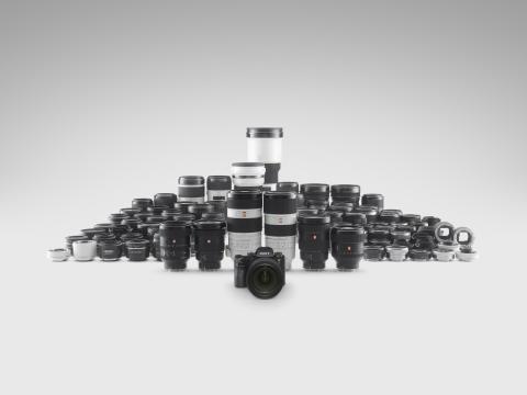 Sony annonce le développement d'un zoom téléobjectif plein format 400 mm F2.8 G Mas-ter en monture E