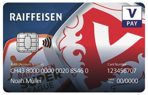 Kartenbilder VPAY Raiffeisen FCV