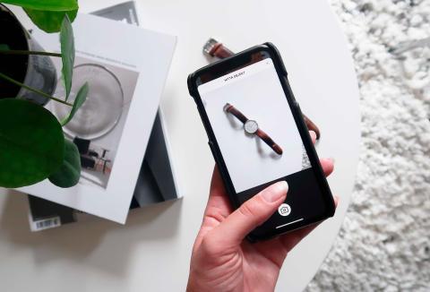 Traderas nya Bildsök: Fota och hitta matchningar på den cirkulära marknaden