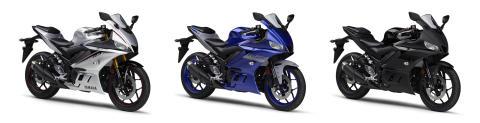 "「YZF-R3 ABS」「YZF-R25/ABS」の新色を発売 若年層に人気のスーパースポーツにトレンドカラー""マットシルバー""を採用"