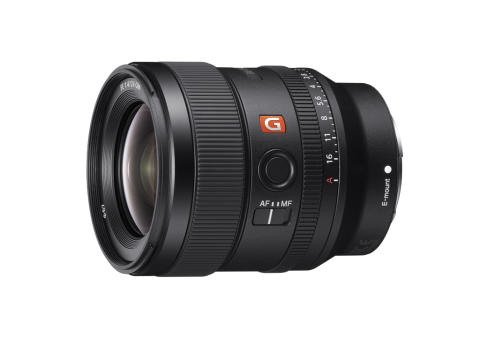 Sony utökar sin serie av fullformatsobjektiv och lanserar  24mm F1.4 G Master™ Prime