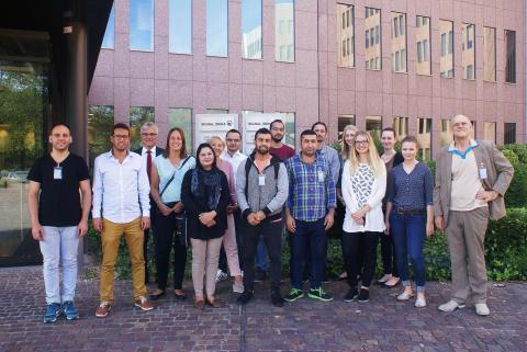 Syrische Flüchtlinge zu Gast in der Hauptverwaltung Dortmund