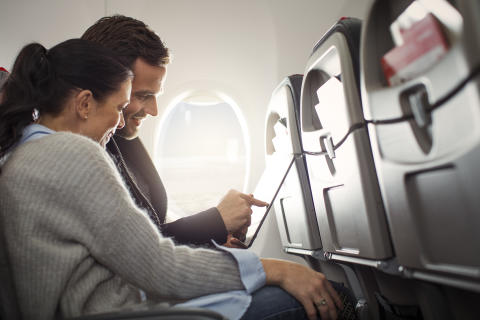 High-Speed WiFi on European Flights
