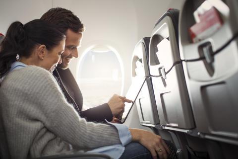 High-Speed WiFi on European Flights