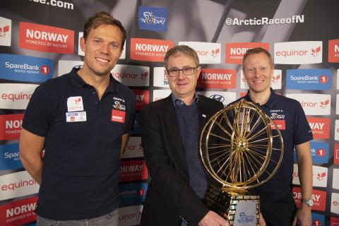 Sikrer mobildekning for Arctic Race