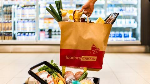 Colliers rådgivare åt Foodora Market