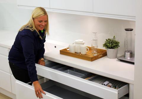 Elkjøps kjøkkenekspert Jenny Nordendahl