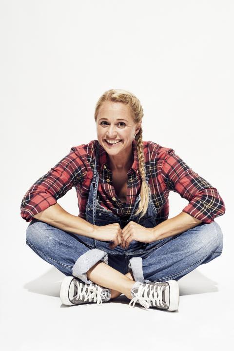 KIKA-Moderatorin Singa Gätgens feierte die Mitmach-Show