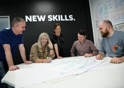 Northumbria going for gold in health and safety