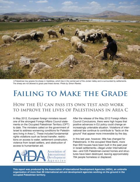 Failing to Make the Grade AIDA EU