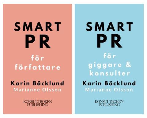 smart pr giggare och författare