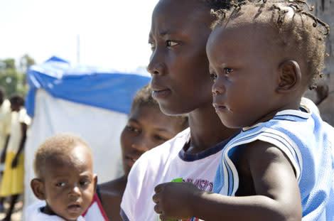 Sånger räddar barns liv i Haiti