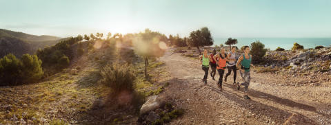 Aktiv ferie off track trail run