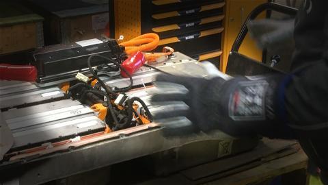PROACTIVE: Effektiv och säker hantering av elbilsbatterier i nordiska öländer