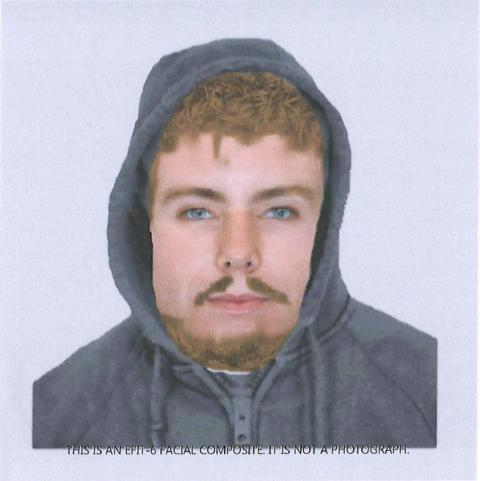 Do you recognise this man wanted in connection with attempted burglary?