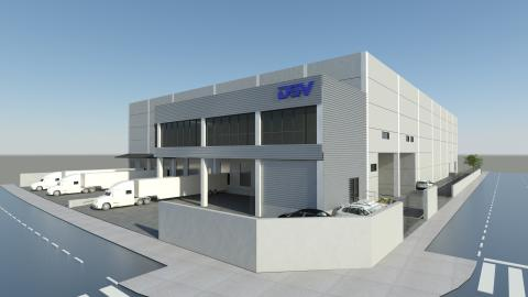 DSV in Valencia, Spain moves to a new facility