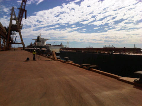 Cavotec automated mooring units detach a vessel at Port Hedland - at the touch of a button. #Cavotecfilm