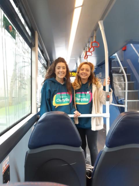 Sophie Atkinson and Emily Ramshaw, Chatty Bus Champions