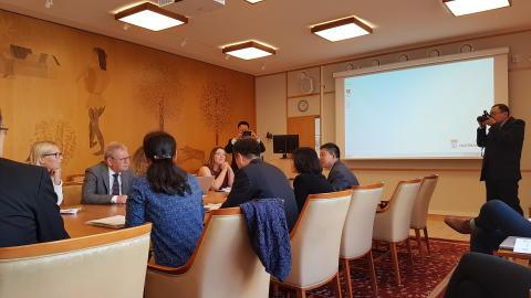 Planerad fortsättning på fruktbart samarbete med Kina
