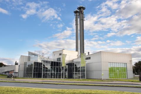 Energieservice Westfalen Weser baut Heizkraftwerk Minden um
