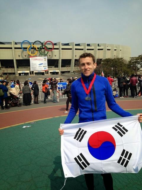 Michael Long in Seoul