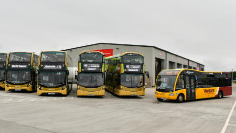 Join us in Consett for the launch of our new X-lines buses