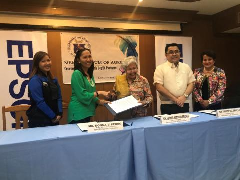 Epson Strengthens partnership with DepEd on Gift of Brightness project